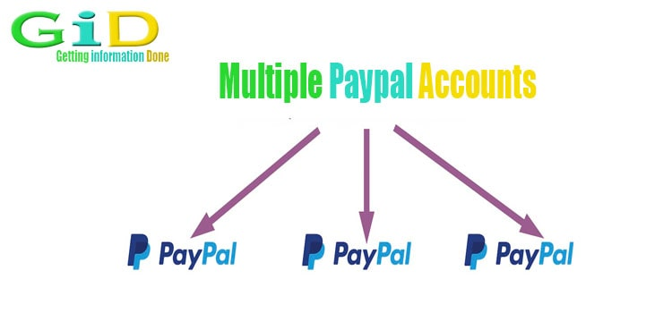 Multiple paypal accounts