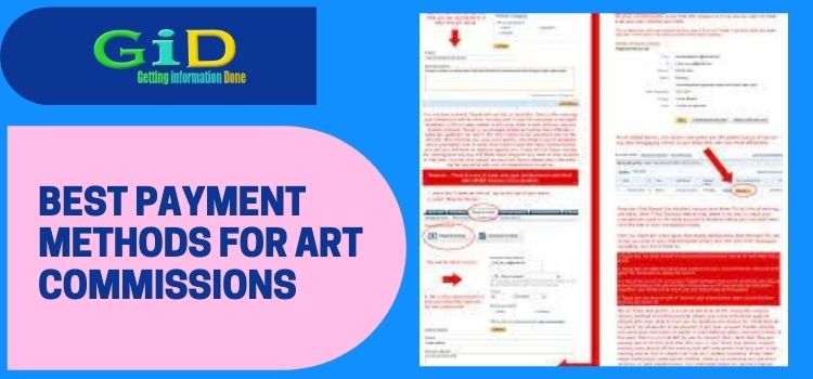 Best payment methods for art commissions