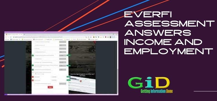 Everfi assessment answers income and employment
