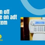 How to turn off door chime on adt alarm system
