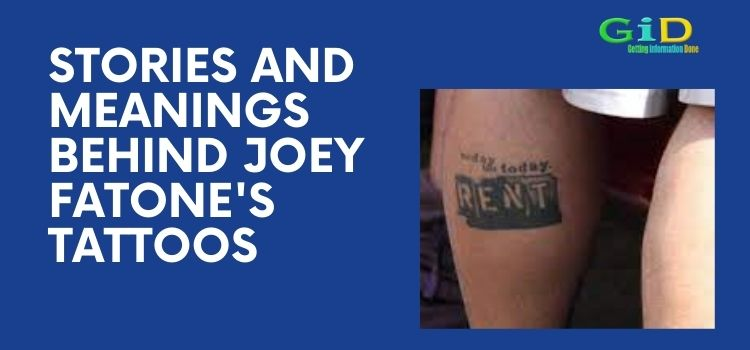 Stories and Meanings Behind Joey Fatone's Tattoos