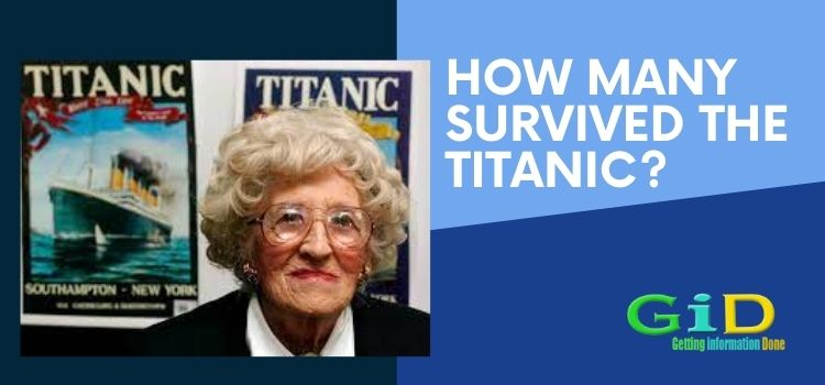 How many survived the Titanic