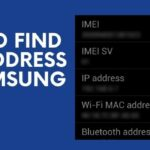 How to find mac address on Samsung tablet